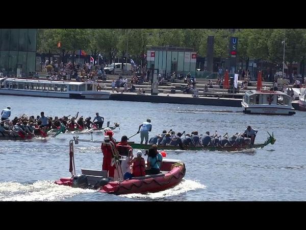Соревнования на 20-местных каноэ. Drachenboot Cup Hamburg 2018