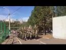 Курсанты поют Туган Як в парке Кашкадан.mp4