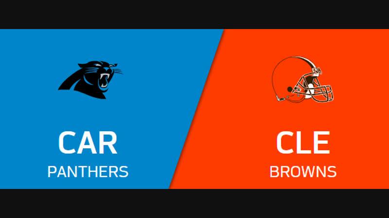 NFL 2018-2019 Week 14 CG Carolina Panthers - Cleveland Browns EN
