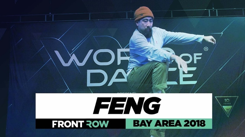 FENG | FrontRow | World of Dance Bay Area 2018 | WODBAY18 | Danceproject.info