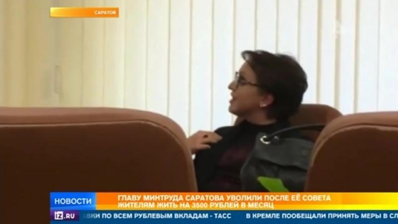 Уволенная в Саратовской области министр задекларировала доход в 2,3 млн рублей