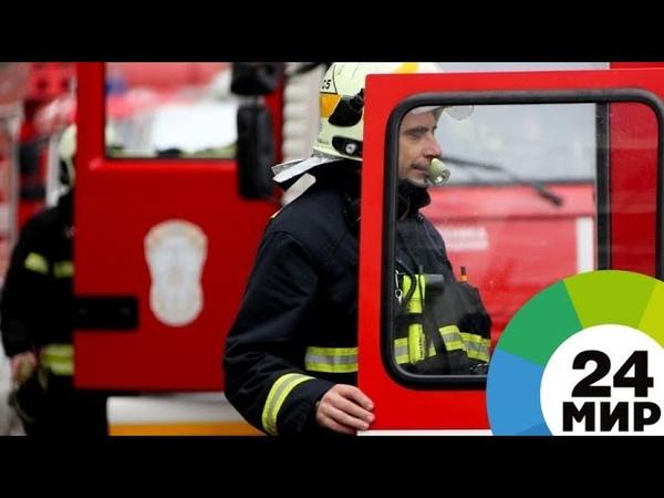 В Екатеринбурге произошло возгорание четырех этажей жилого дома - МИР 24