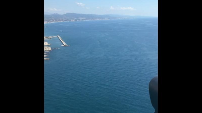 Вертолётная прогулка над Барселоной