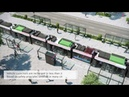 Catenary-free solutions for tramway systems