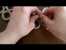 Making Door Ornament From Plastic Bottles Top,DIY- Pet Şişe Kapaklarından Kapı S.mp4