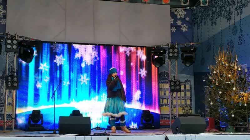 Сольный блок Елизаветы Кемоклидзе на Рождественской ярмарке