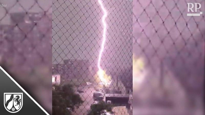 User-Videos: So heftig tobte das Unwetter über NRW
