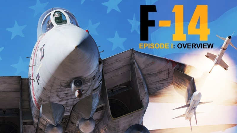 Heatblur DCS F-14 Tomcat - Episode 1 Overview