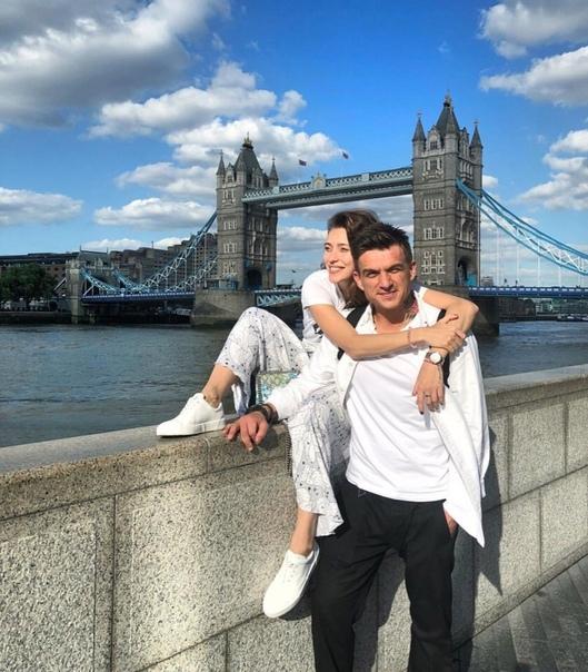Регина Тодоренко и Влад Топалов отдыхают в Лондоне