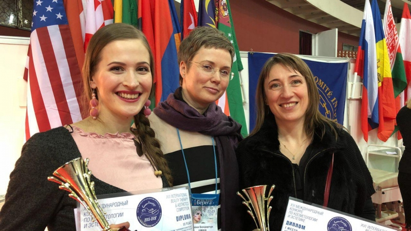 Победа на конкурсе Невские Берега 2018