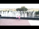 Танцующие фонтаны на Финляндском вокзале