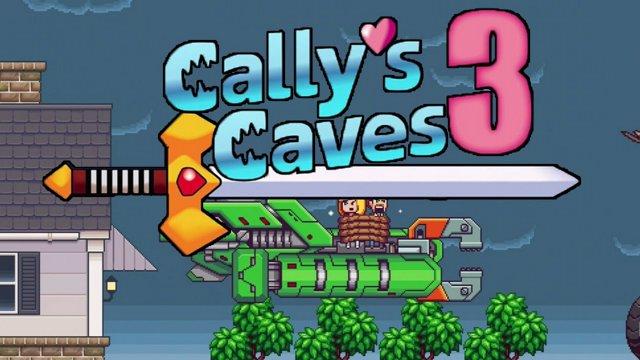 Cally's Caves 3 (убивашка с хвостиками)