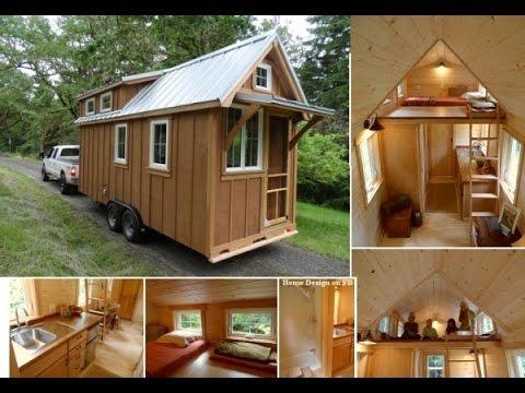Tiny house или крошечный дом, кафе или офис на колесах!