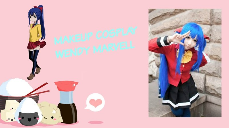 Makeup Cosplay Wendy Marvell | Tutorial Fairy Tail |