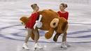 Alina Zagitova Large Soft Toy Short Grand Prix Final 2018 12 6