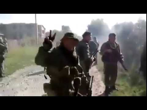 Захват украинских территорий русскими фашистами