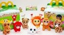 МакДональдс коллекция игрушек Зоопарк Бинни Бу Хэппи Мил