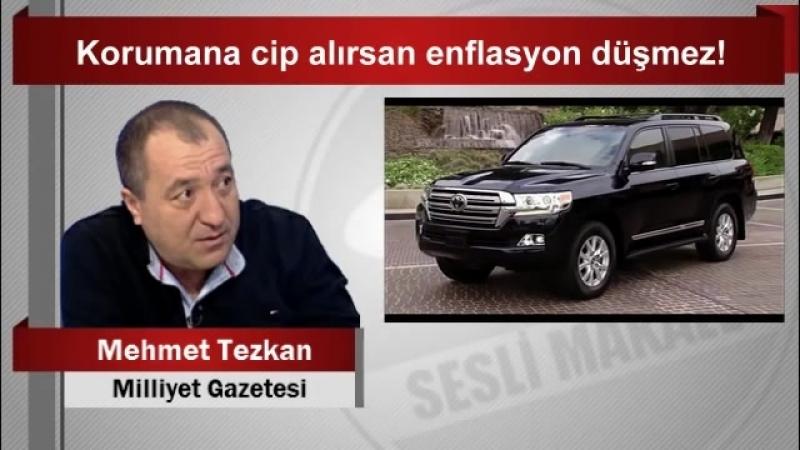 Mehmet Tezkan Korumana cip alırsan enflasyon düşmez! - YouTube