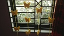 DIY Butterfly Curtain for Window Door How to Make Butterfly Hanging for Room Home Decoration