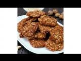 Овсяное печенье с орехами | Больше рецептов в группе Десертомания