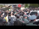 Задержание лидера оппозиции Никола Пашиняна