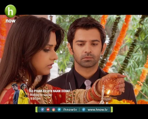 H Now Entertainment on Instagram Don't forget to watch Iss Pyaar Ko Kya Naam Doon Every day at 8 30 PM only on H Now Entertainment drama ipkkn