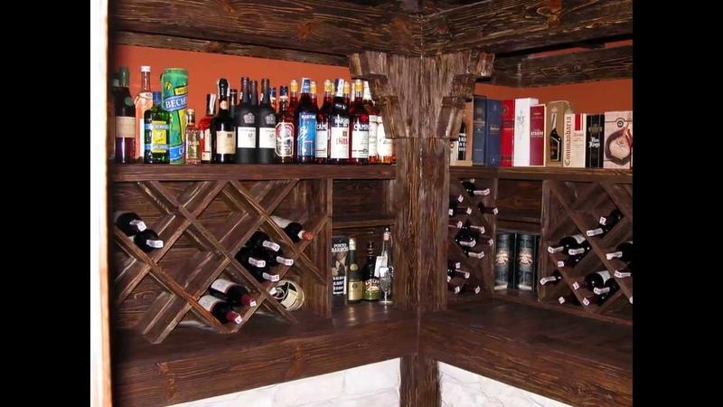 Мебель Винный погреб погребок Винный шкаф стеллаж бочка под старину
