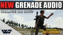 BIG CHANGE to GRENADE AUDIO - This is how it is now 100-800m test - PUBG