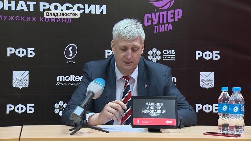 Регулярный чемпионат завершил победой БК «Спартак-Приморье»