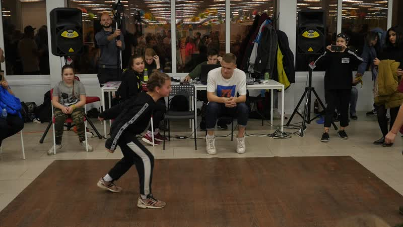 Hip-Hop kids финал Соня Винтовка vs Даша Звёздочка