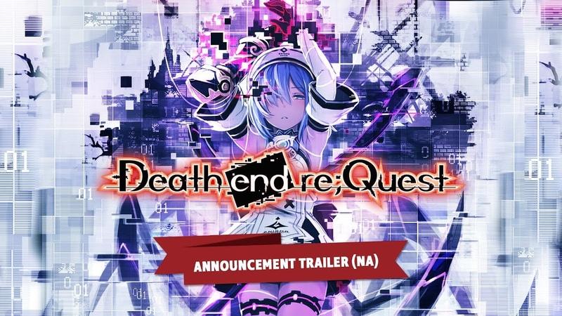 Death end re;Quest Announcement Trailer (NA)