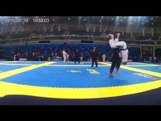 Результативный тэйкдаун. master international ibjjf jiu-jitsu championship – south america 2018.