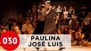 Paulina Cazabon and José Luis González Una fija PaulinayJoseLuis