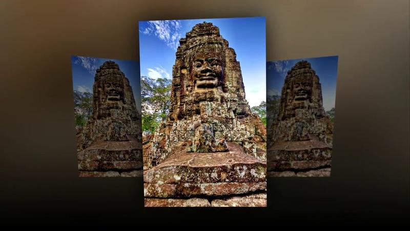 Смотри и думай... История 35. Храм Байон ... Камбоджа ... Bayon Temple, Cambodia