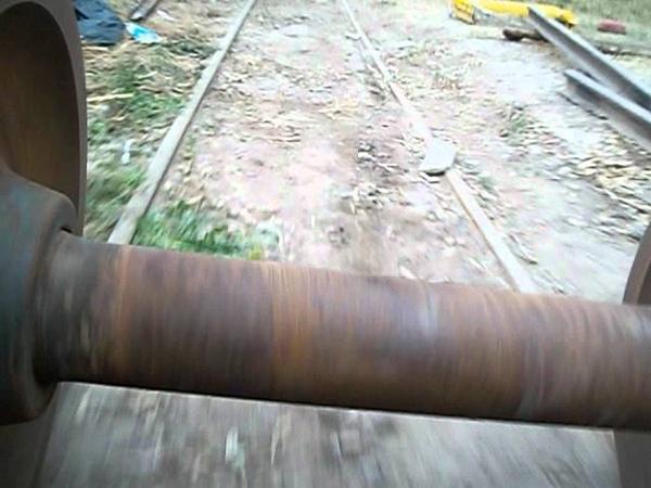 Paseo en bogie por FERROTUR. Ferrocarril Belgrano. Mendoza