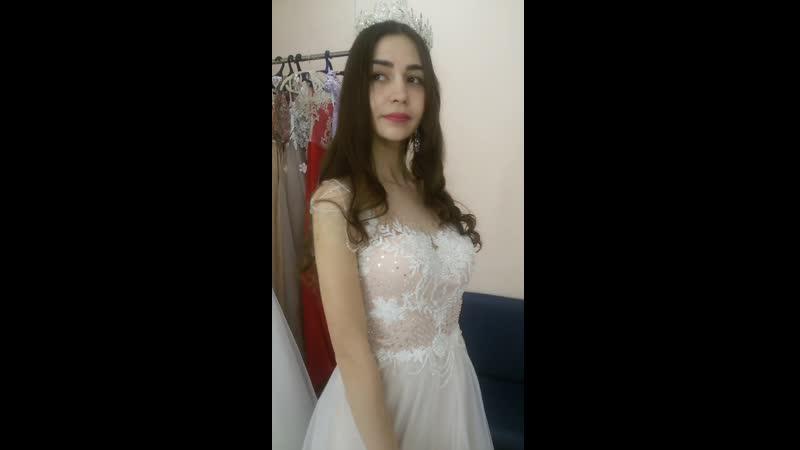 Жемчужное платье в стиле бохо от MAlinka STyle