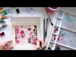 Speed painting из видео урока