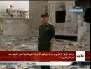 Церемония поднятия флага Сирии над освобожденным от террористов, районом Дамаска Хаджар аль-Асвад. После 7 лет борьбы боевые дей