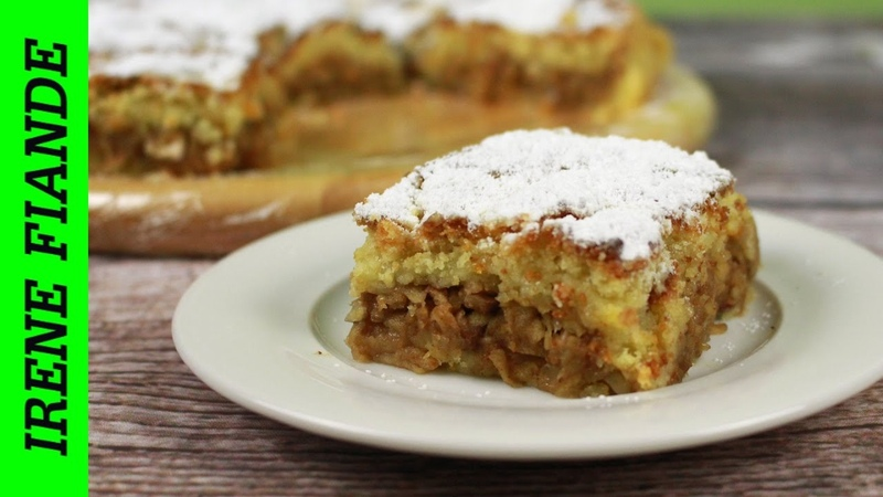 Постный яблочный пирог на апельсиновом соке. Супер вкусный Пирог с яблоками и орехами