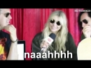 Learn The Alphabet with Taylor Momsen (excluding x and z)