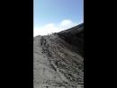 Второй кратер вулкана горелый