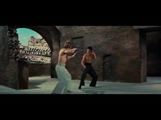 Chuck Norris vs Bruce Lee HD (1972)