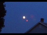 Mysterious Red Planet Like Object Filmed Next To The Moon. Atglen, Pennsylvania