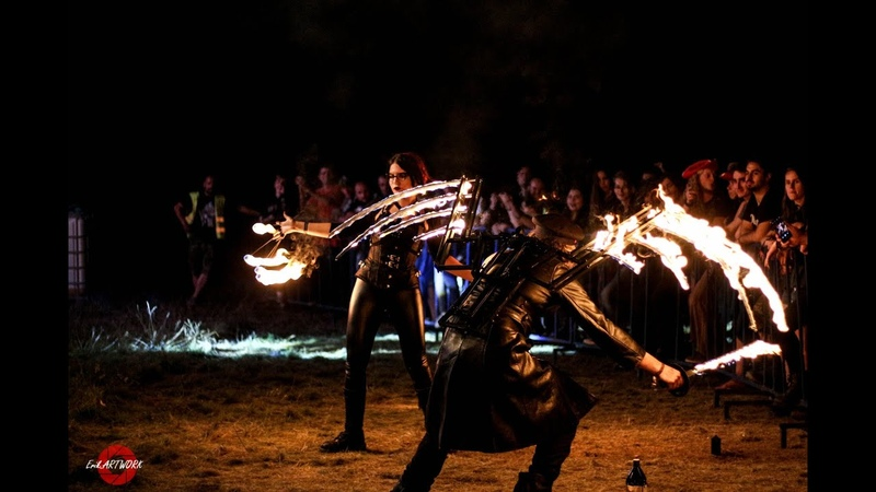Tenebres Live Celtic Transylvania V with Pyrotechnic Team Deep6 Promo