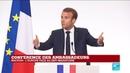 REPLAY Emmanuel Macron s exprime devant les ambassadeurs 27 08 2018
