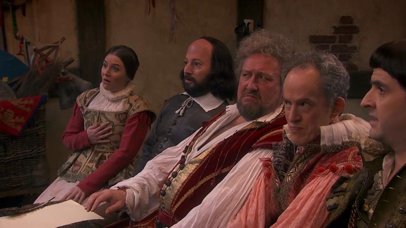 Уильям наш, Шекспир | Upstart Crow - 3 сезон | 2 серия (озвучено Ozz)3