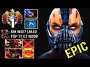 THIS IS HOW TOP 1 MMR MID Anti Mage vs Counter Pick 2x Reflex Crazy Comeback by Arteezy 7.14 Dota 2