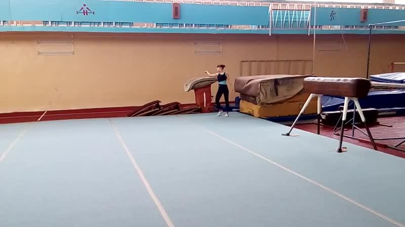 Спортивная гимнастика. Вольные упражнения. Floor exercise