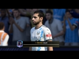 FIFA18 Салах забивает фирменный гол