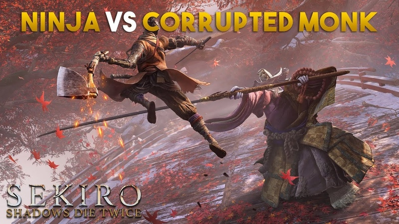 Ninjashyper Battles The Corrupted Monk! Sekiro Shadows Die Twice
